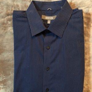 NWOT Kenneth Cole Reaction Dress Shirt Men's XL